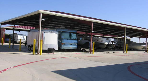 public storage for recreational vehicles