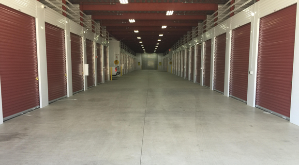 Secure Storage Units Interrior Access