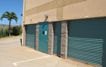 We have small (4x9) and large drive-up units.