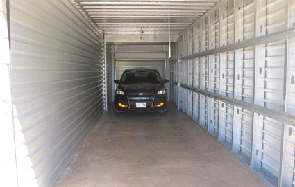 This is one of our largest drive-up units.