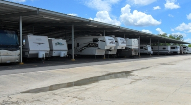 Secure RV storage