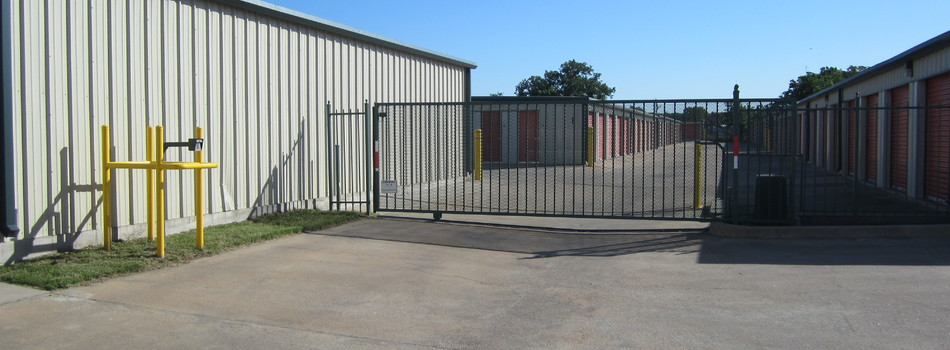 A-Prime Self Storage - Security Gate