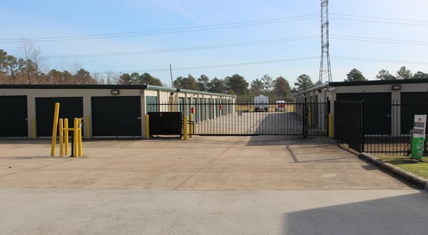 Safe and secure self storage units
