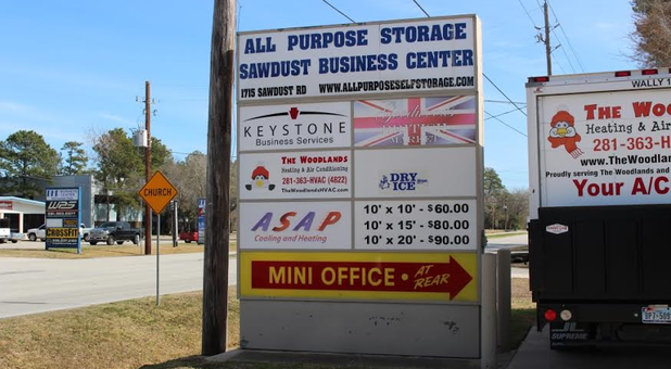 Self Storage in The Woodlands, TX
