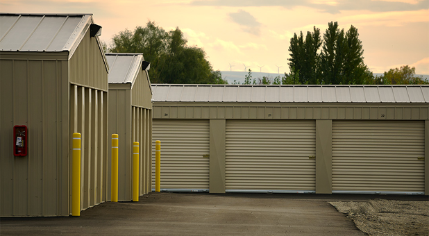 ... Argent Storage Full View; Rear View of Units ... & Pasco Washington 99301 Self Storage Units | Argent Storage