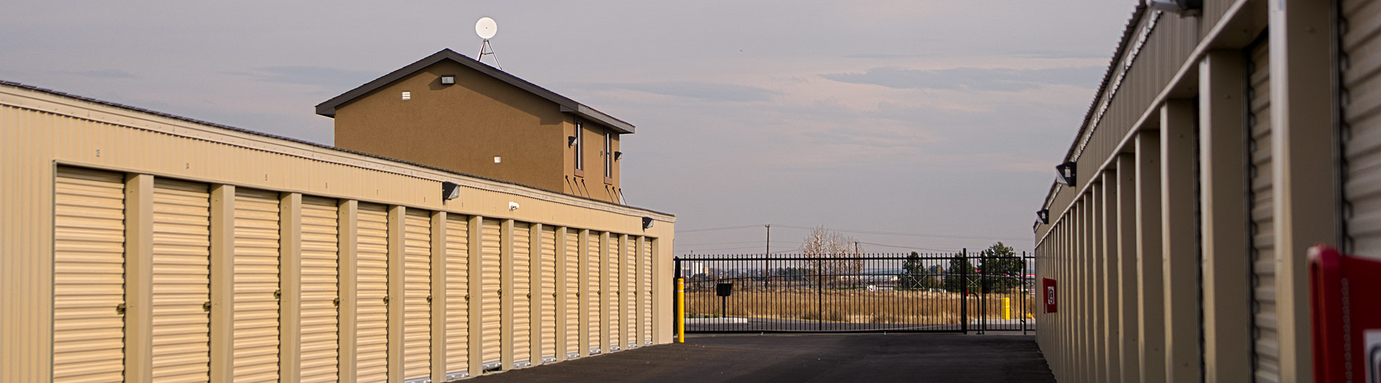 Rear View; Interior Storage ... & Self Storage Units in Pasco WA | Argent Storage