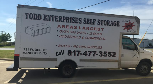 Truck Rental at Todd Self Storage