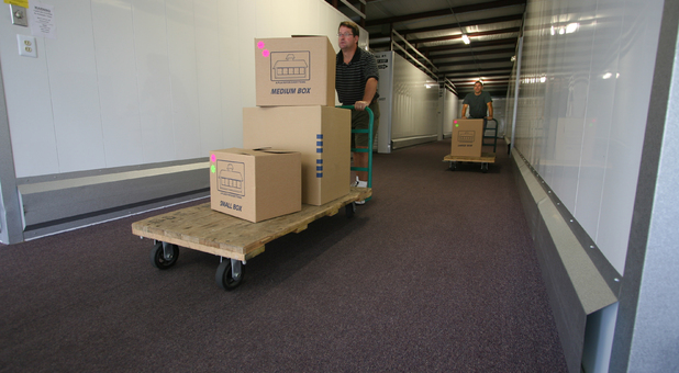 We sell boxes and packing supplies in our office