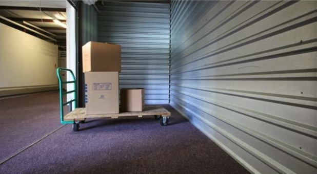 ... Self Storage Units; Moving Supplies And Cart ...