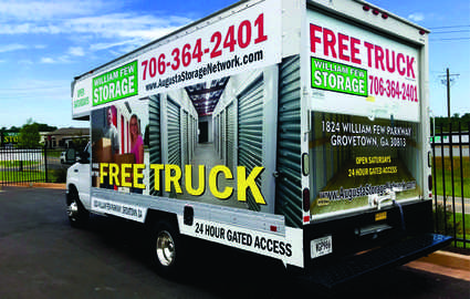 Free Truck at move-in