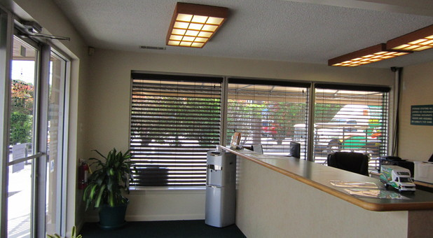 Comfortable Front Office