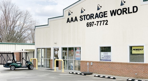 Welcome to AAA Storage World, Hendersonville! We are open Monday through Saturday from 9:00am to 5:00pm.