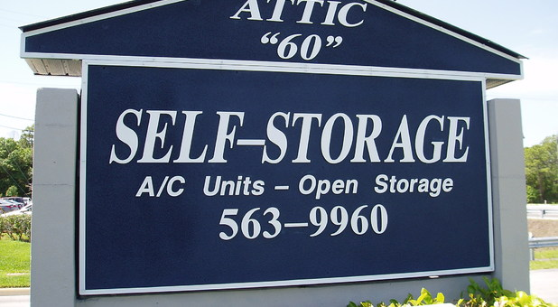 Attic 60 Storage Deals · Sign Out Front ...