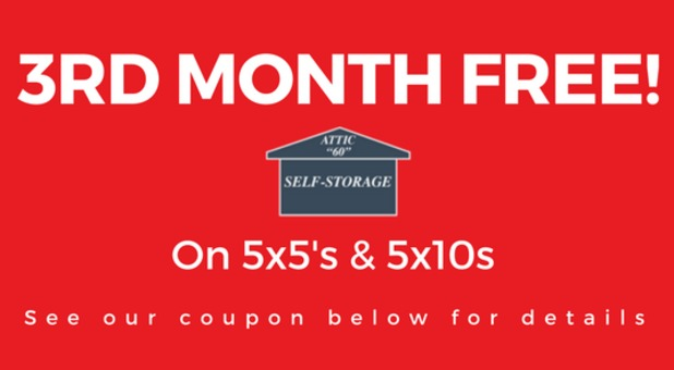 Attic 60 Storage Deals