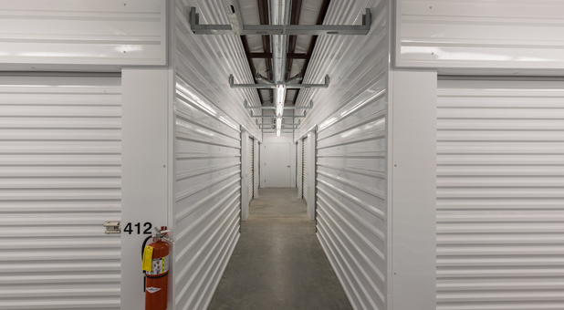 Interior self storage units