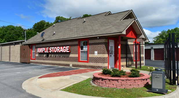 Ample Self Storage Benton main office