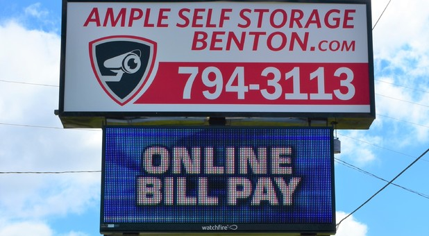 Benton and Bryant Digital Sign