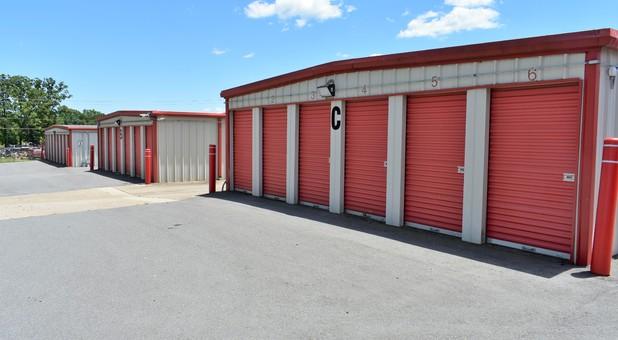 Drive up standard storage units