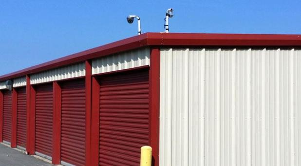 Budget Self Storage Cabot Security Cameras