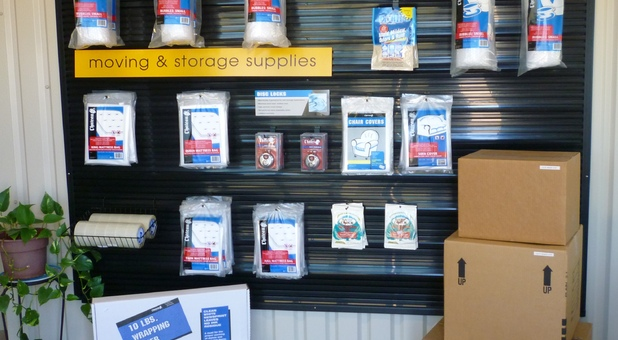 We sell boxes & supplies