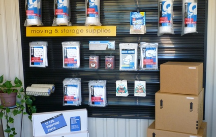 We sell boxes and supplies