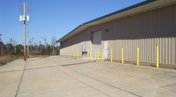 Rear Loading Area