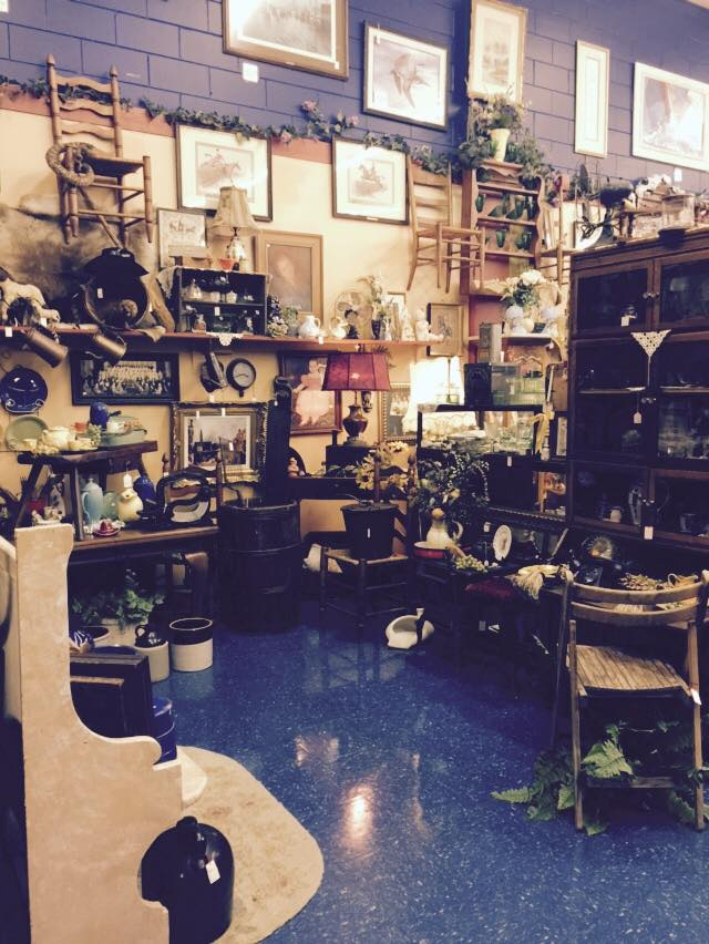 Antique Shop filled with collectables in Clearwater, FL