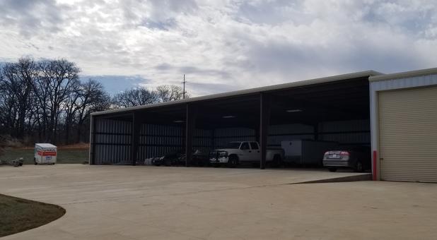 Covered RV & Vehicle Storage