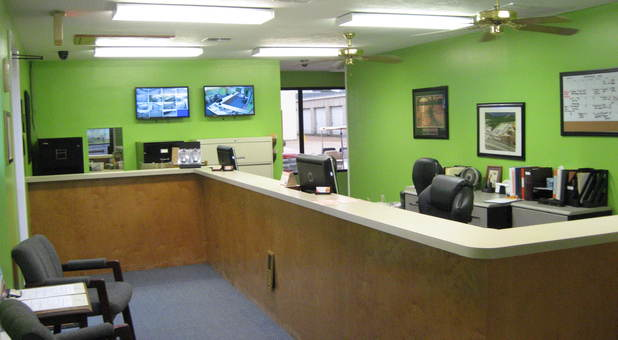Nacogdoches, TX Self Storage Facility Office