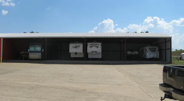Covered RV Storage in Nacogdoches, TX