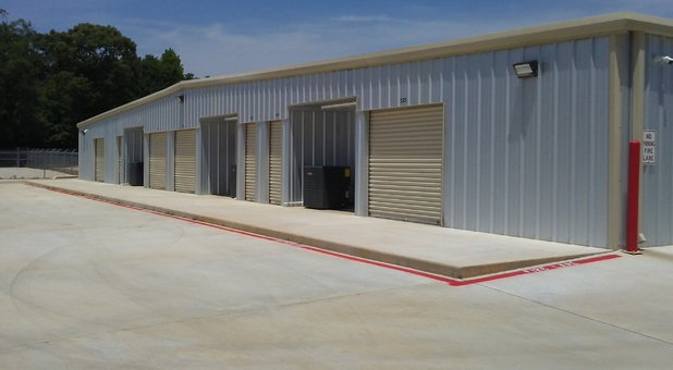 Storage Facility Back Side