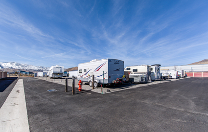 Outdoor RV, Trailer & Boat Storage