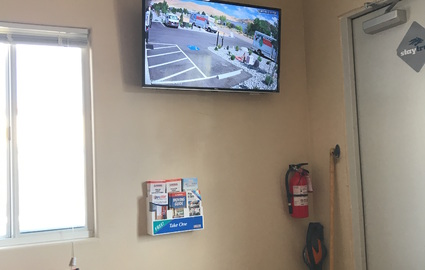 State of the art 1080P HD security cameras at Carson City Storage