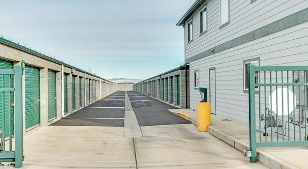 Drive-Up Storage Units