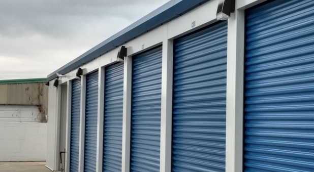 Line of Storage Units in Hot Springs, AR