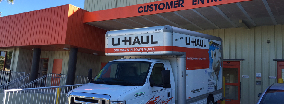 Uhaul Customer Entrance