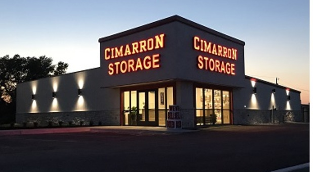 Cimarron Boat & RV Storage Entrance
