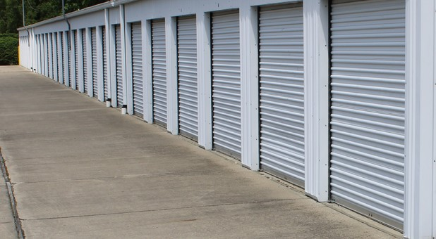 Drive up to your clean and secure self-storage unit