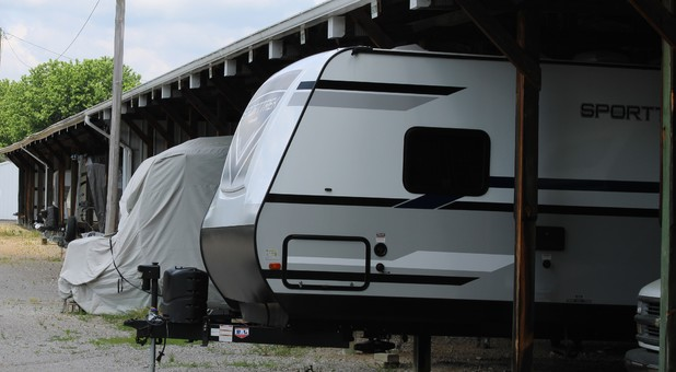 Covered RV Storage to Protect Your Investment