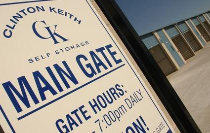 Main Gate Sign