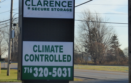 Clarence Secure Storage Climate Control in Clarence, NY