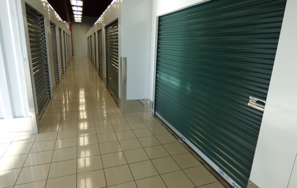 Climate Controlled Units in hallway
