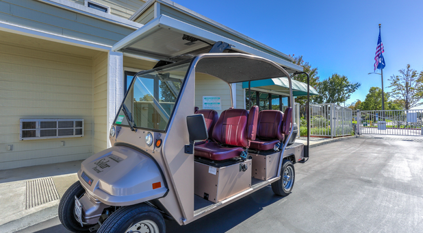 Solar Powered Golf Cart