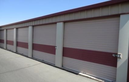 Wide Doors at Storage Facility