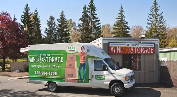 Self Storage In Redmond Wa 98052 Storage Court