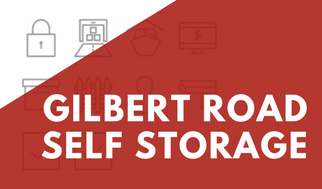 Gilbert Road Self Storage Banner For Promotions