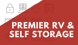 Premier RV & Self Storage Banner For Promotions
