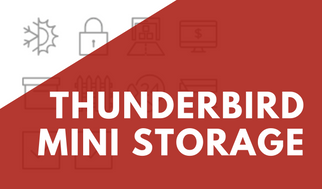 Thunderbird Mini Storage Banner For Promotions