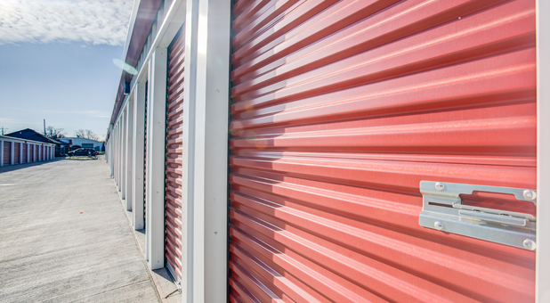 Individually locked Storage Units