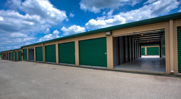 drive up units at Falmout Self Storage